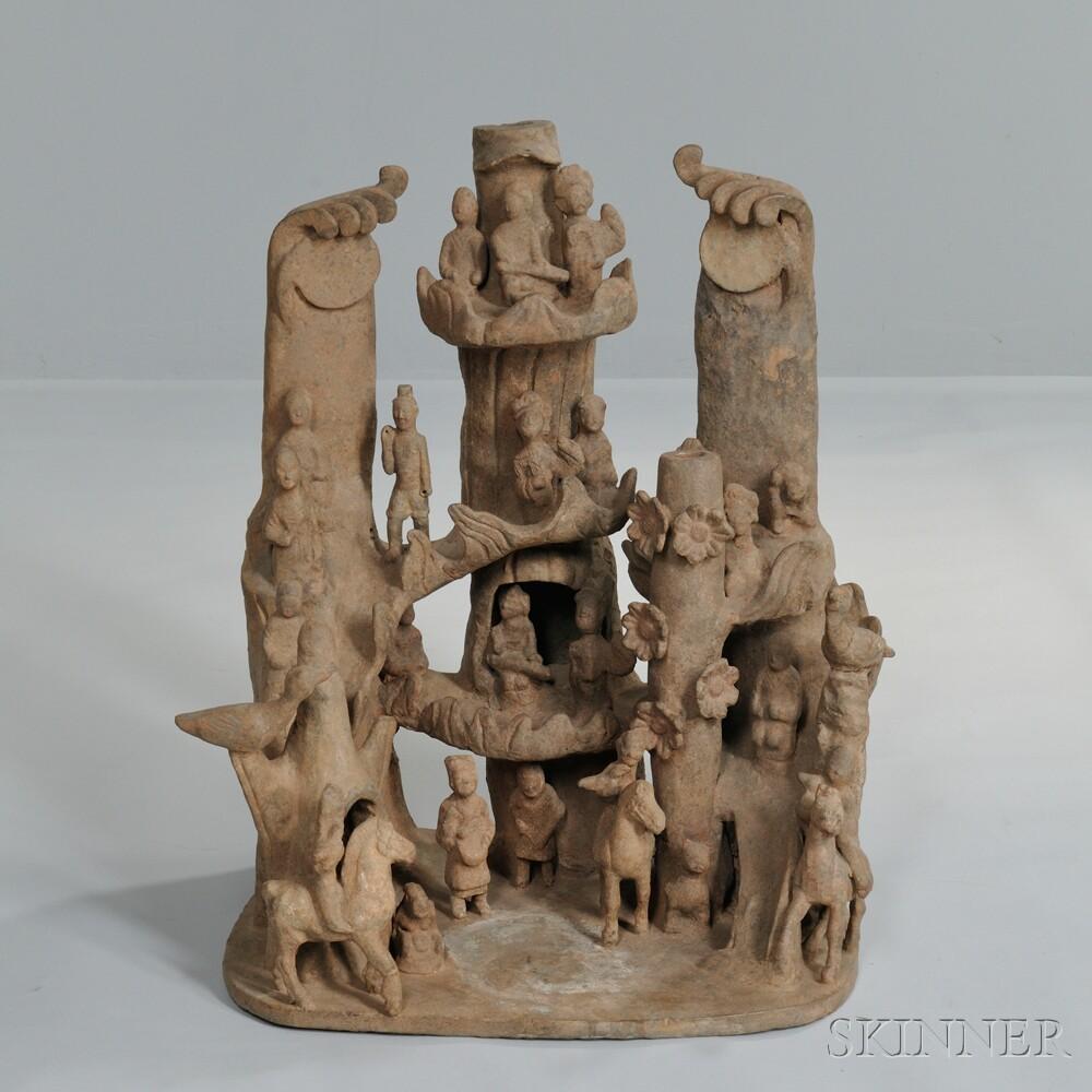 Tomb Pottery Village