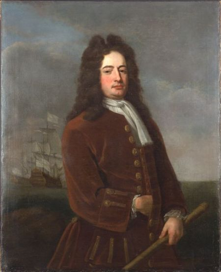Attributed to Thomas Bardwell (British, 1704-1767), Vice Admiral Edward Vernon, Commander in Chief in the West Indies (British, 1684-17