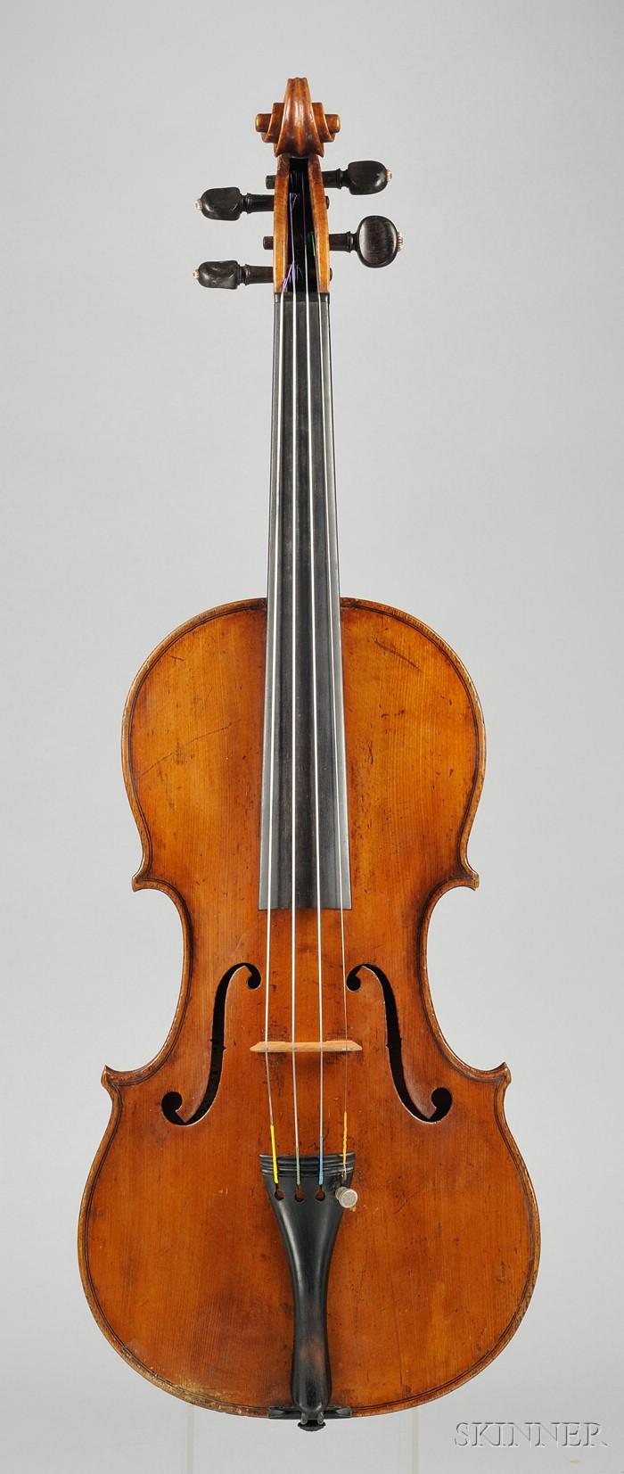 Italian Violin, Giovanni Baptista Ceruti, Cremona, 1803