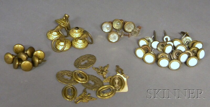 Group of 19th Century Assorted Brass Hardware