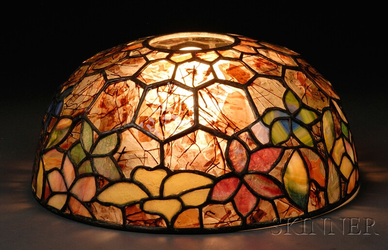 Woodbine Mosaic Glass Shade