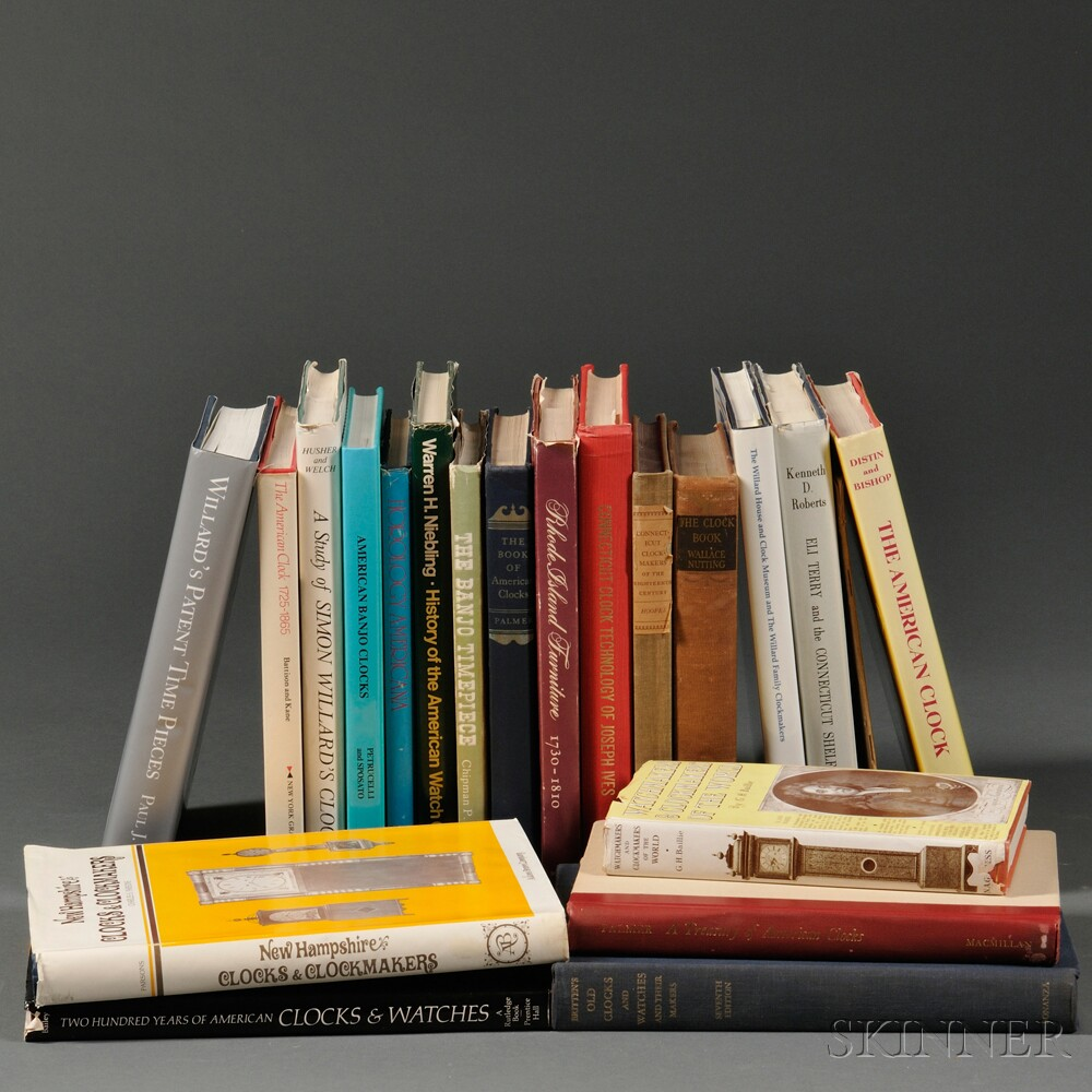 Twenty Titles on Antique Clocks and Furniture