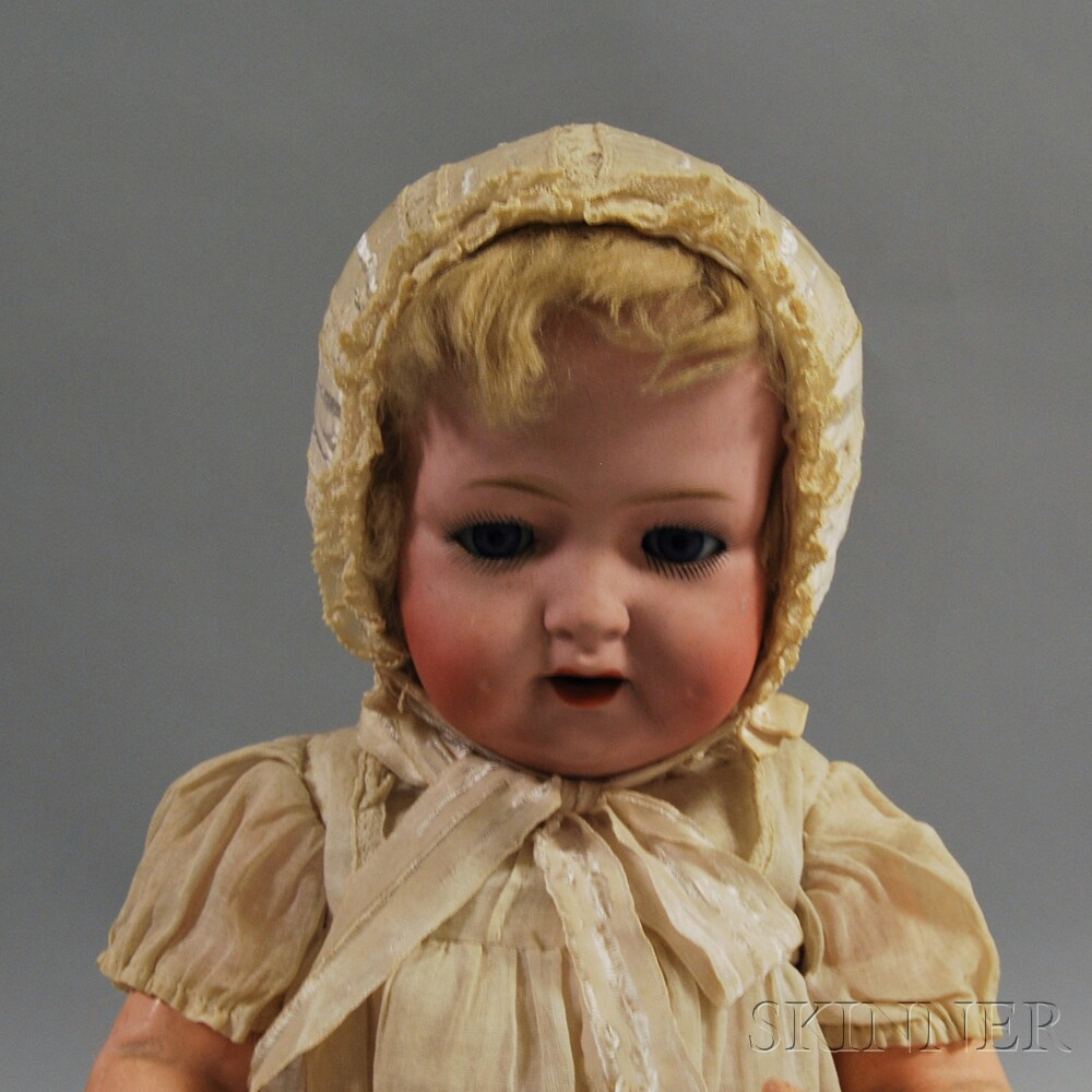 Morimura Brothers Bisque Head Character Baby