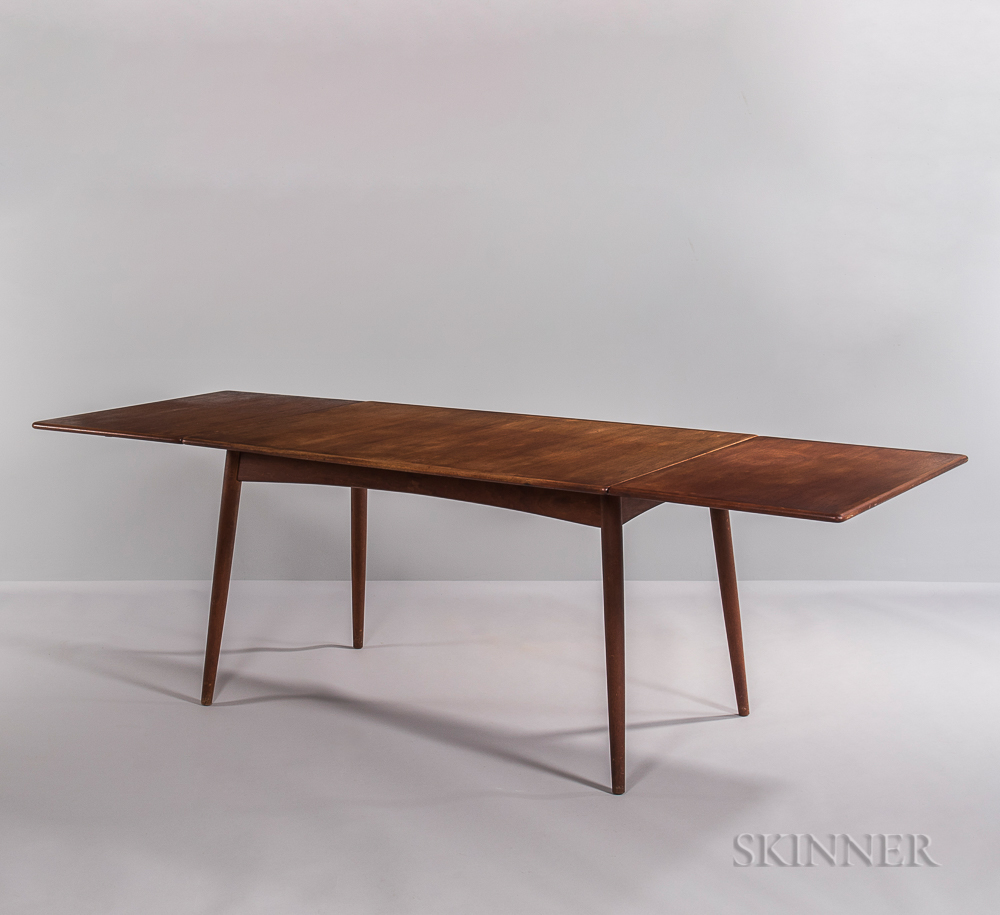 Hans J. Wegner for Andreas Tuck Drop-leaf Dining Table