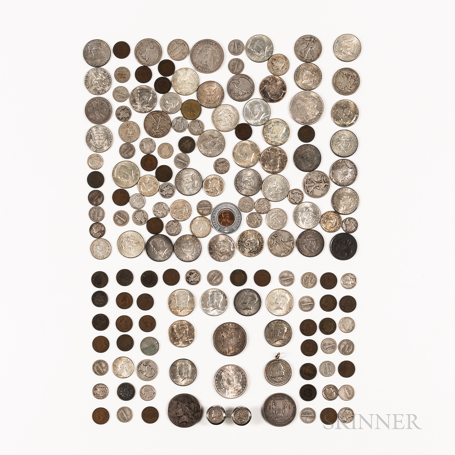 Group of American Coins and Tokens