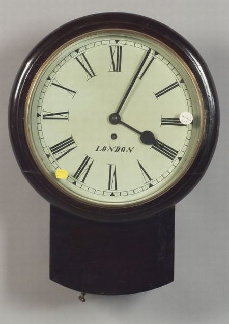 English Mahogany Tavern Timepiece