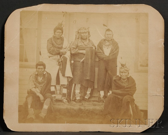 Photograph of Pawnee Chiefs