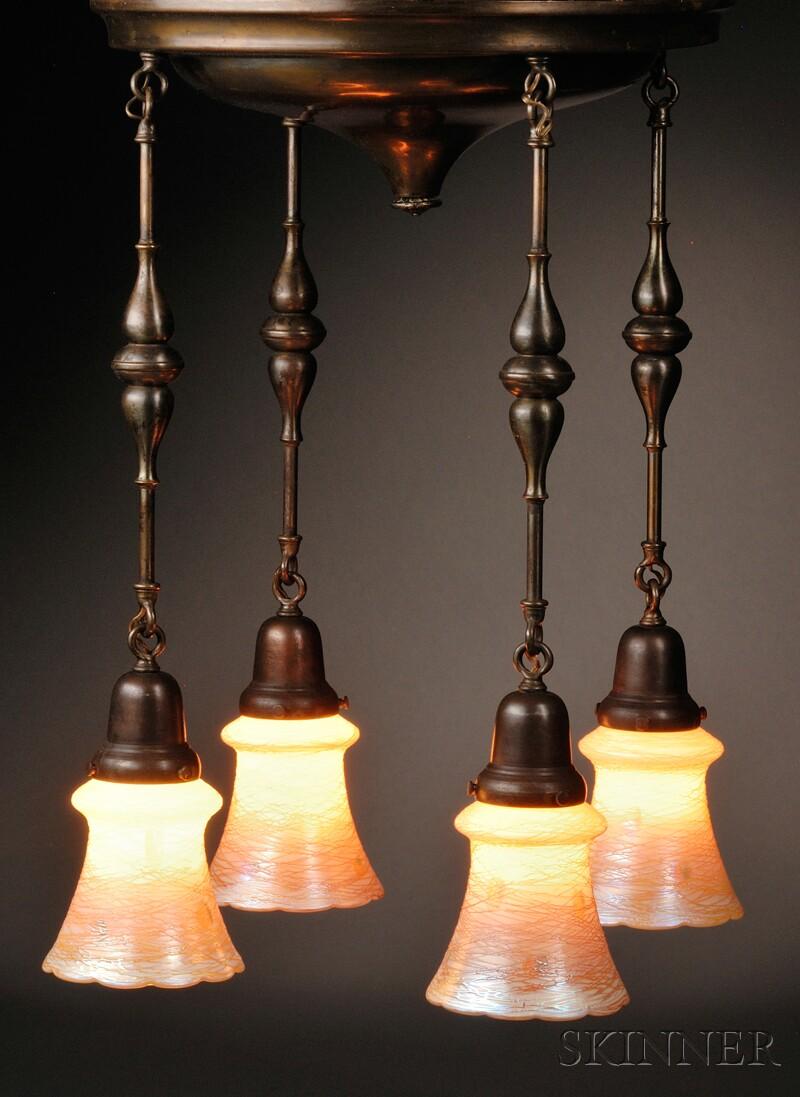 Quezal Hanging Lamp