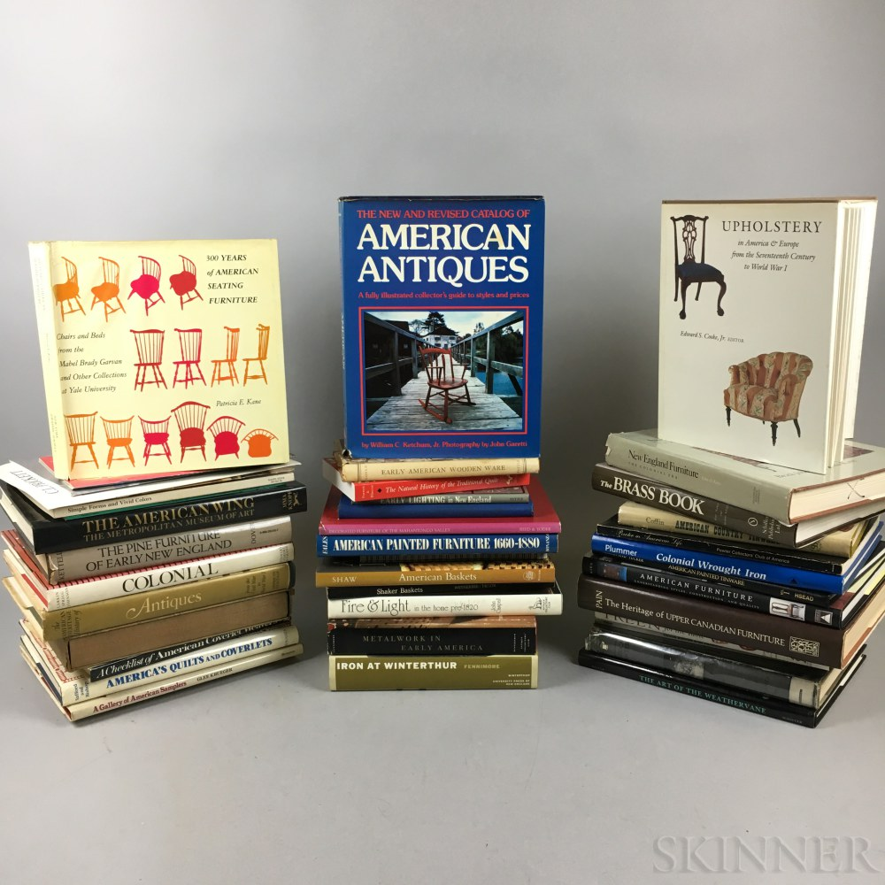 Extensive Library of Antique Reference Books