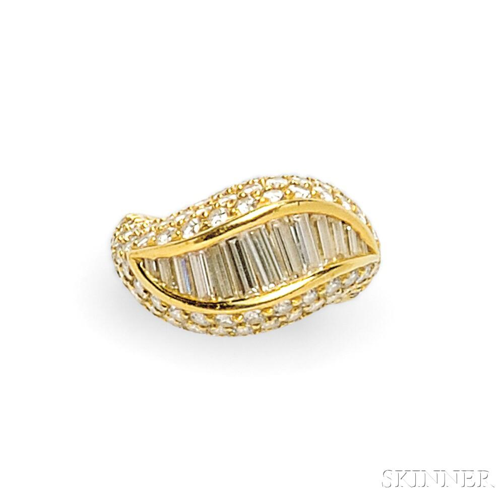 18kt Gold and Diamond Ring, Kurt Wayne
