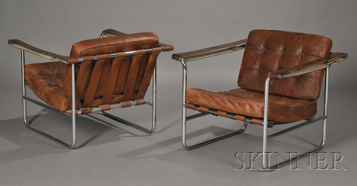 Pair of Stendig Lounge Chairs