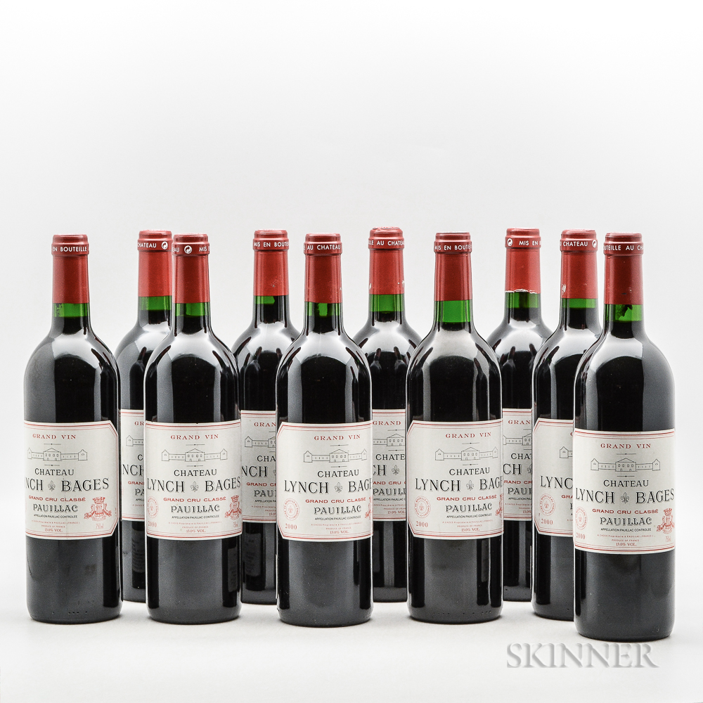 Chateau Lynch Bages 2000, 10 bottles
