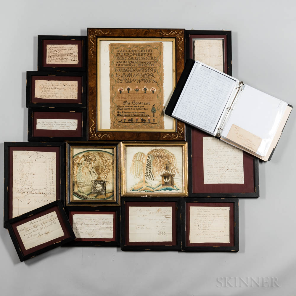 Hoppin Family Document and Needlework Archive