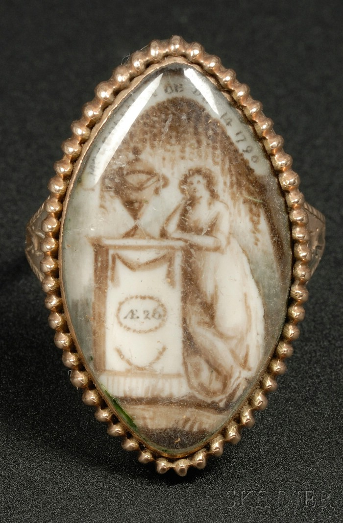 14kt Gold Memorial Ring