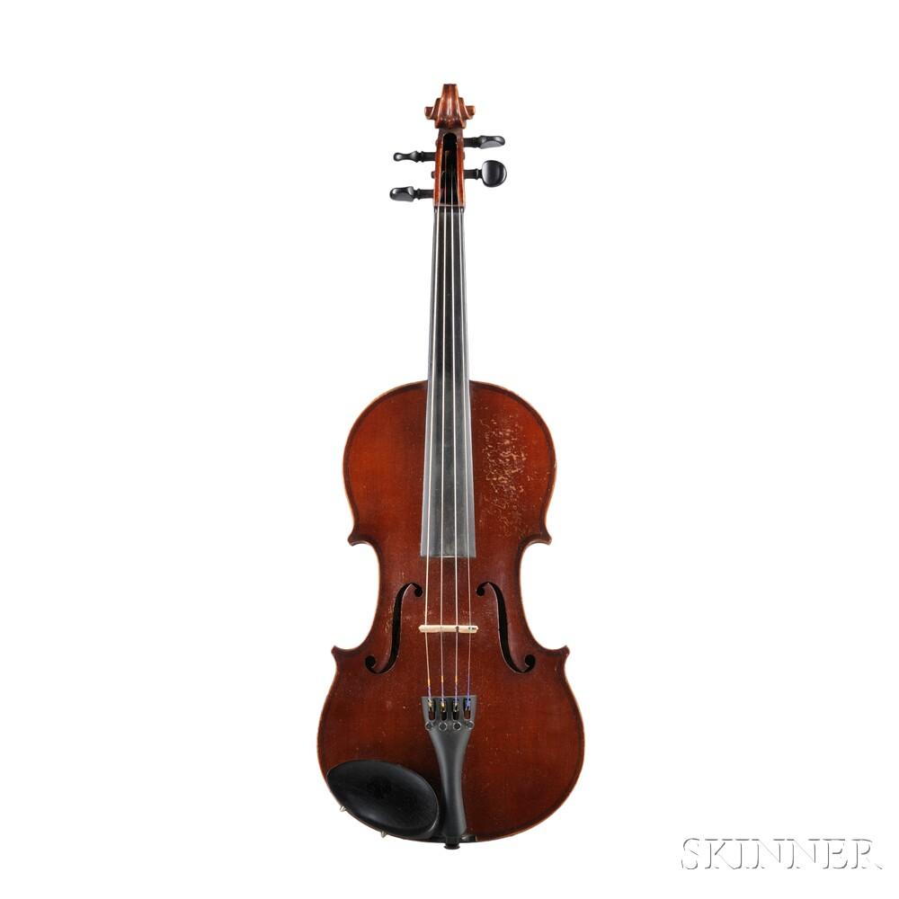 German Violin, Markneukirchen, 1938