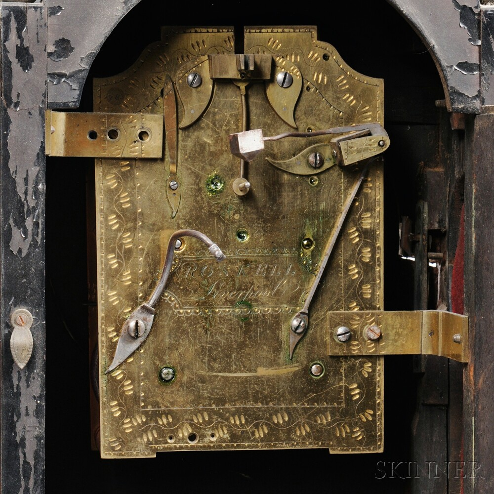 Roskell Bracket Clock and Bracket