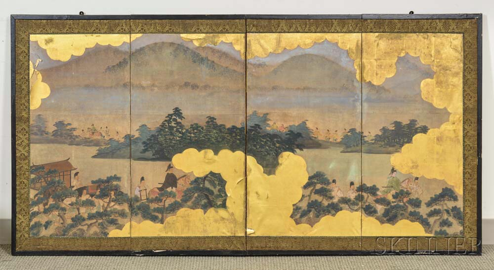 Four-panel Screen