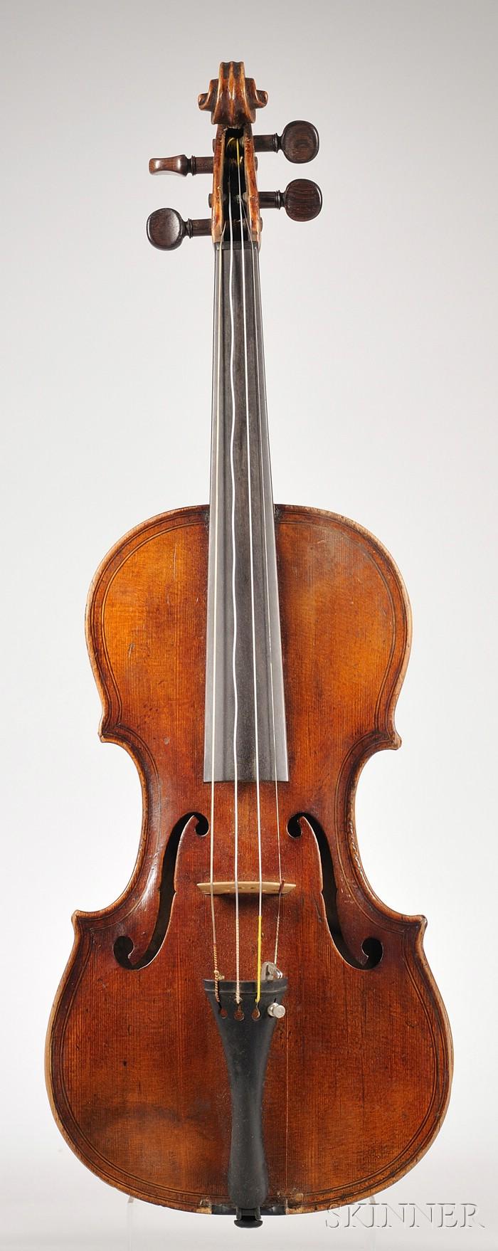 French Violin c. 1860