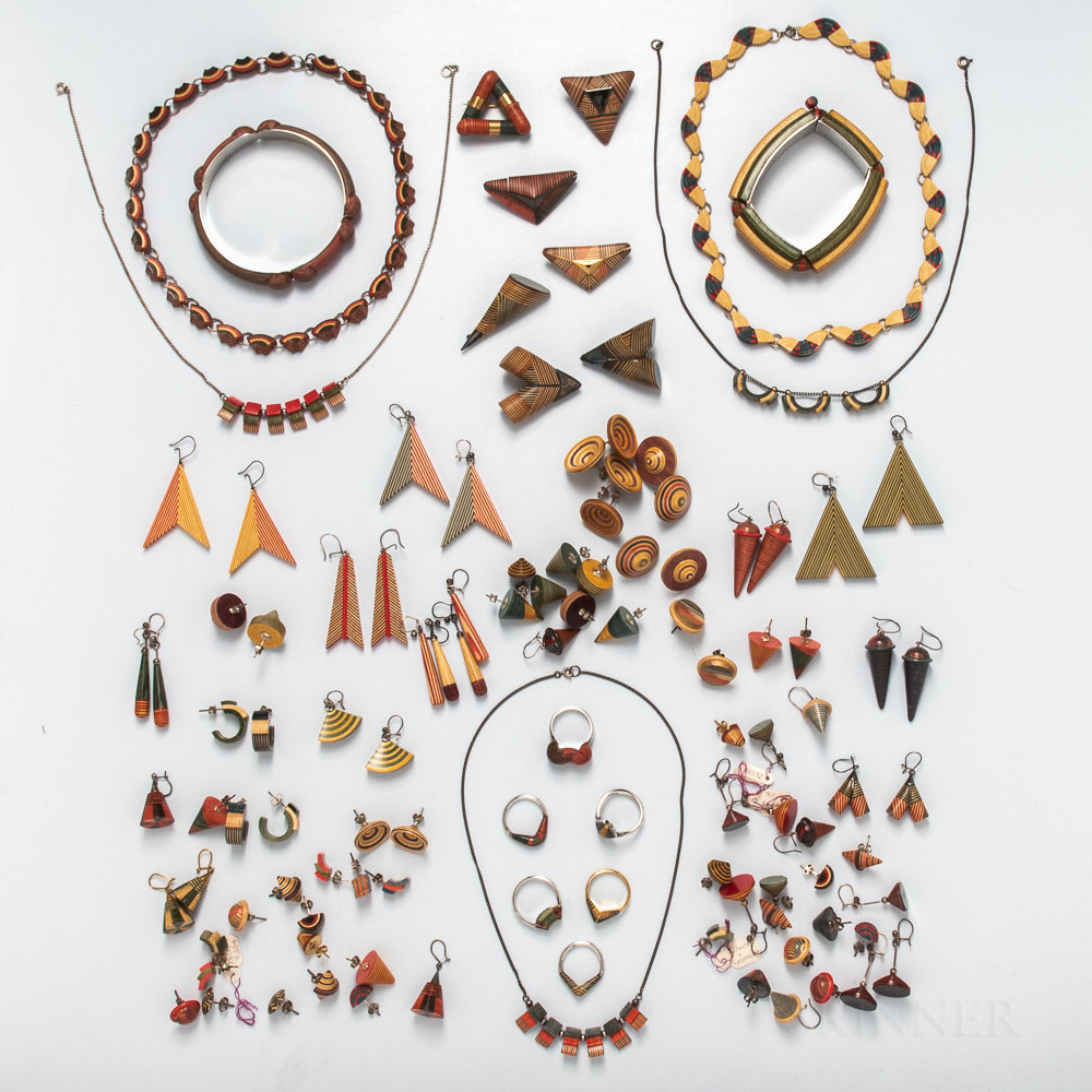 Group of Peter Chatwen Multicolored Jewelry