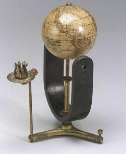 Electrical Globe by Albert Lotz