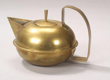 Five Hans Przyrembel Metalwork Table Items