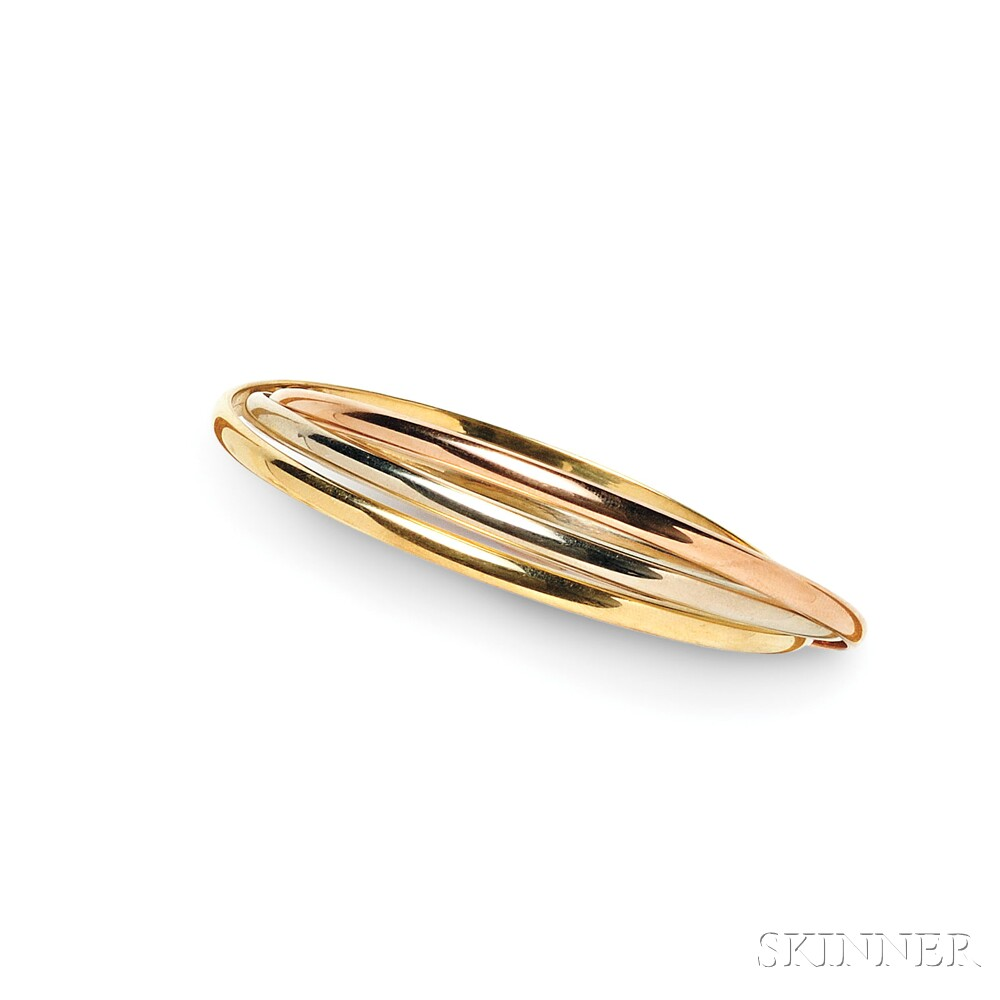 18kt Tricolor Gold Bracelet