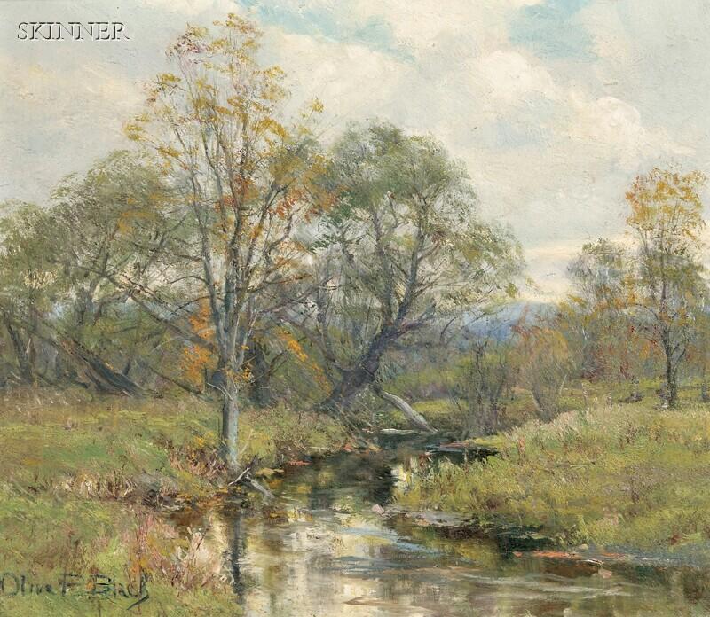 Olive Parker Black (American, 1868-1948)      Summer Landscape