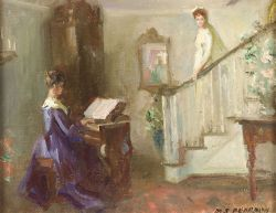 Marguerite Stuber Pearson (American, 1898-1978)  Home Wedding