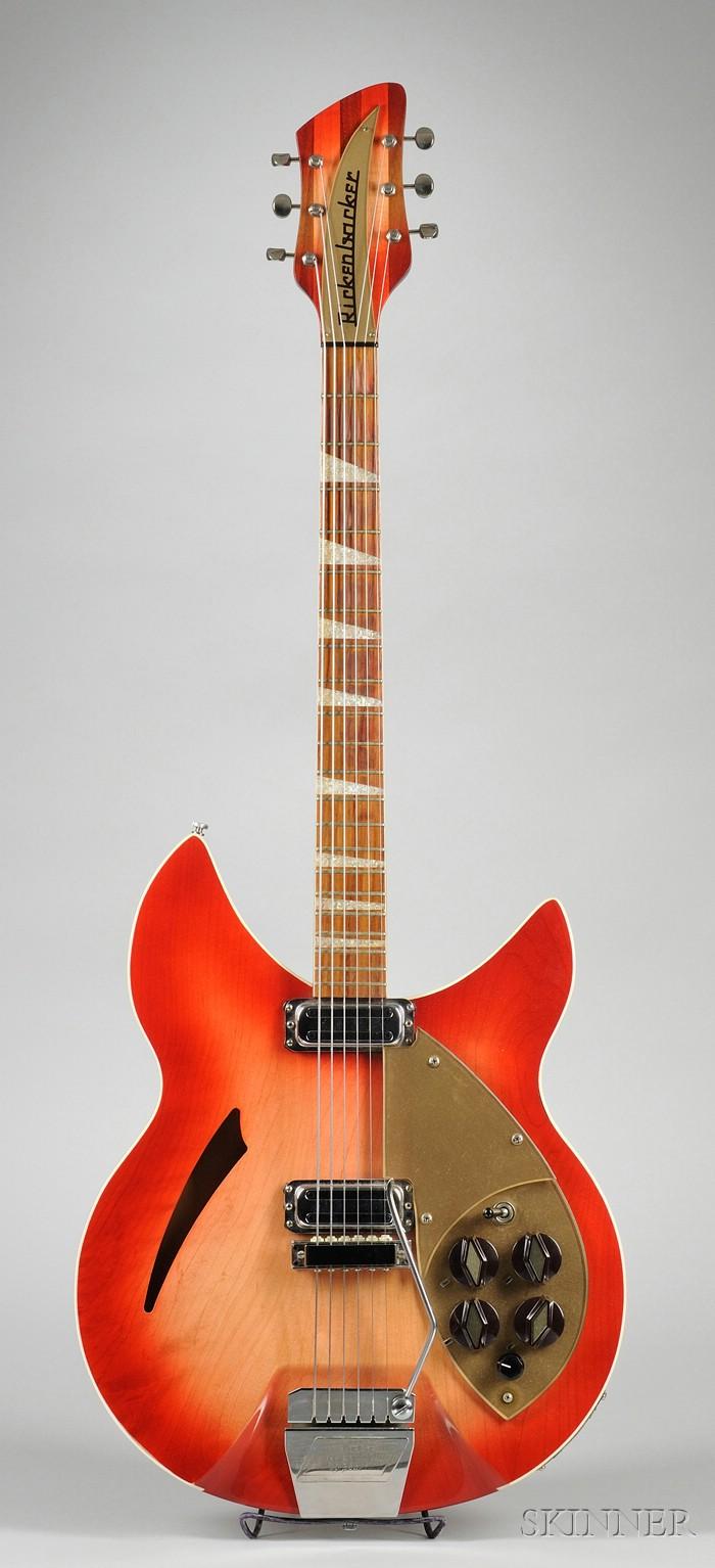 American Electric Guitar, Rickenbacker Company, Santa Ana, 1961, Model 365