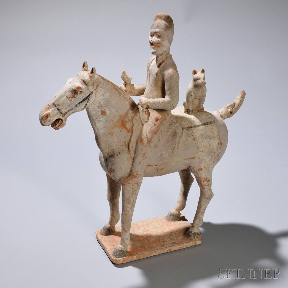 Pottery Horse and Rider