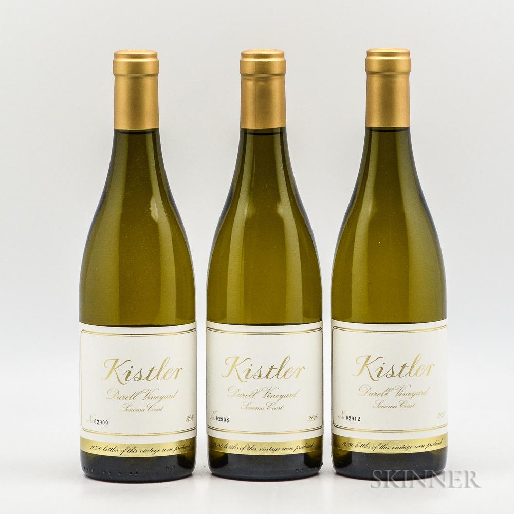Kistler Durell Chardonnay 2010, 3 bottles