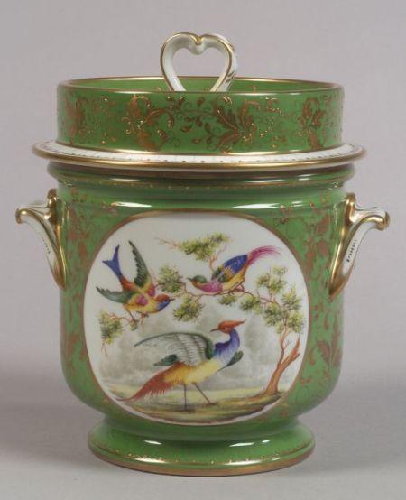 Paris Porcelain Fruit Cooler and Cover