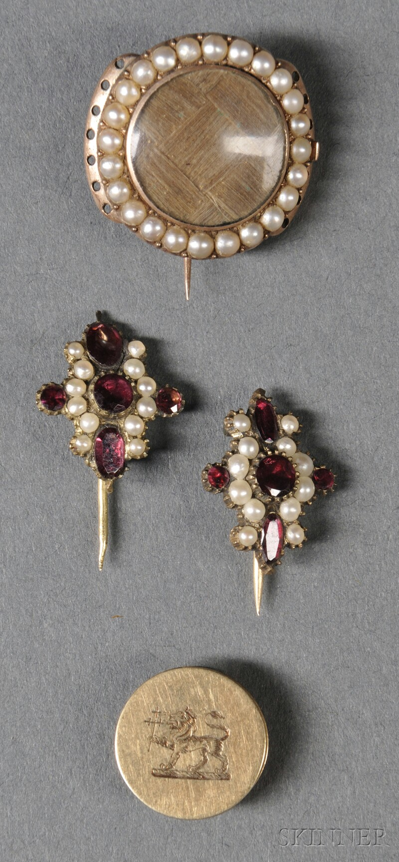 Four Pieces of Adams Family Jewelry