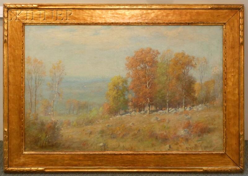 Joseph H. Greenwood (American, 1857-1927)      Early Autumn Landscape