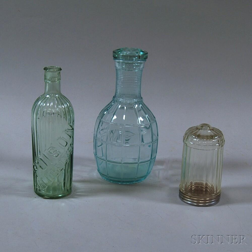 Three Glass Vessels