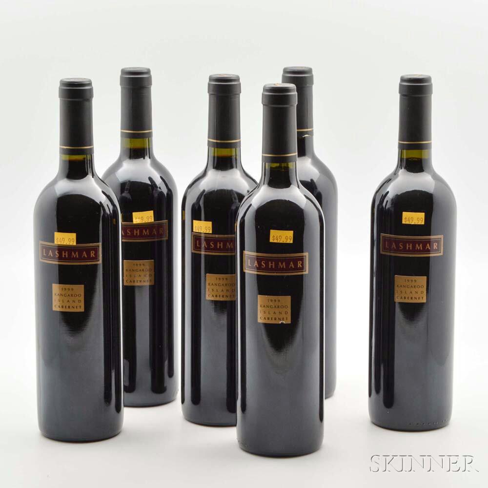 Lashmar Cabernet Sauvignon 1999, 6 bottles