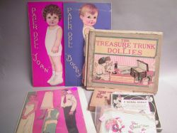 Mixed Lot of Toys and Paper Dolls