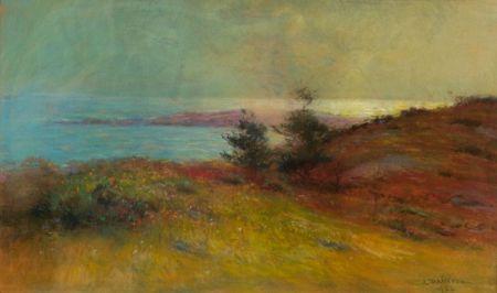 Louis D. Norton (American, 1868-1940)    Autumn Coast