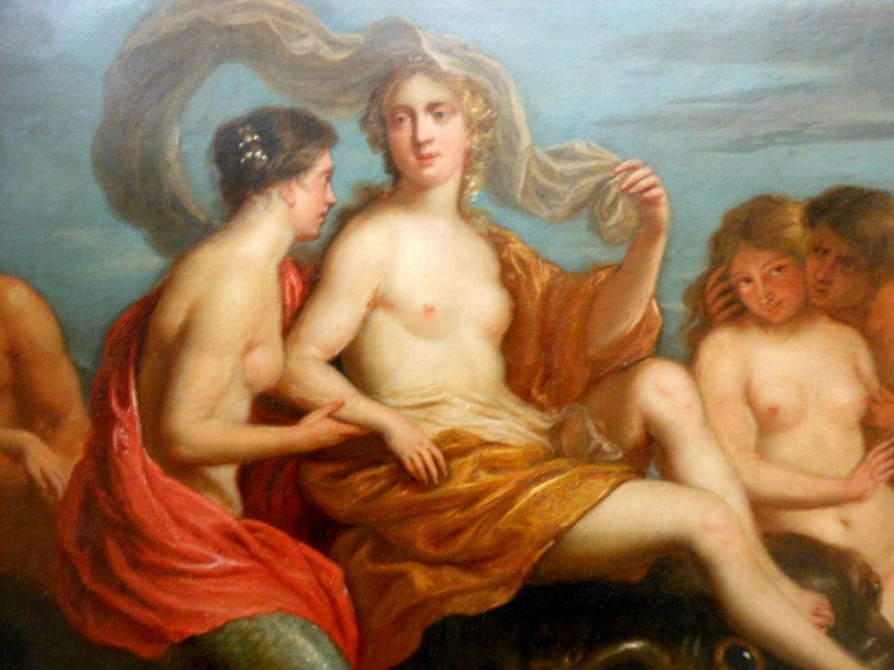 French School, 17th Century Style      Birth of Venus