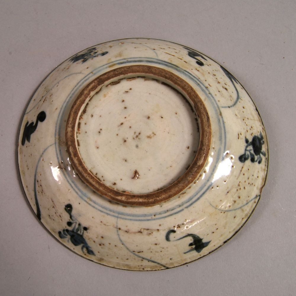Seven Blue and White Swatow-ware Items