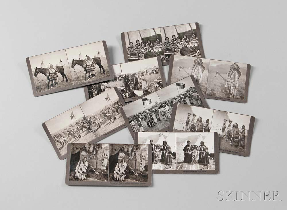 Nine Photographs by N.A. Forsyth