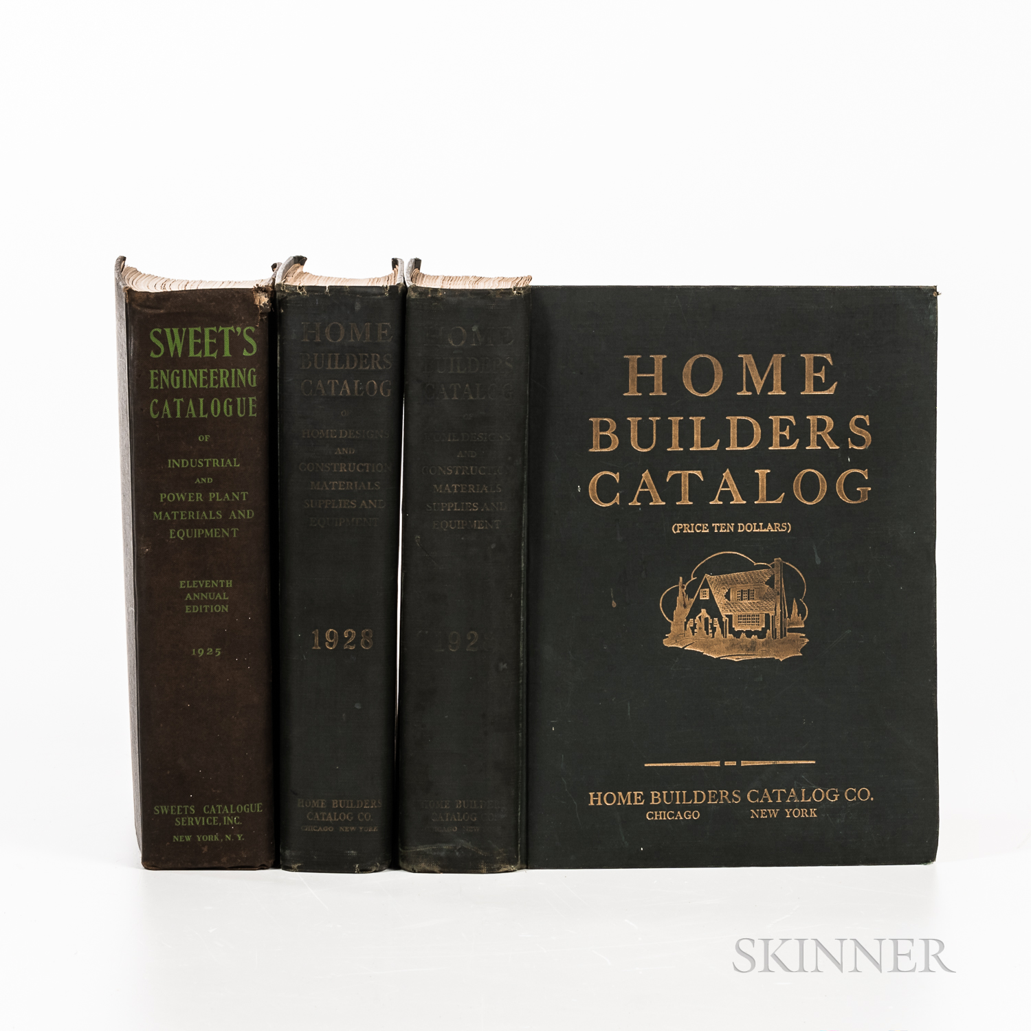 Three Home Building and Engineering Catalogs.