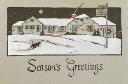Marguerite Stuber Pearson (American, 1898-1978)  Lot of the Artist's Personal Christmas Cards.