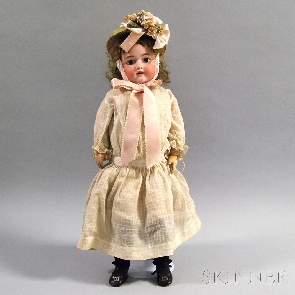 Heinrich Handwerck Bisque Head Girl Doll