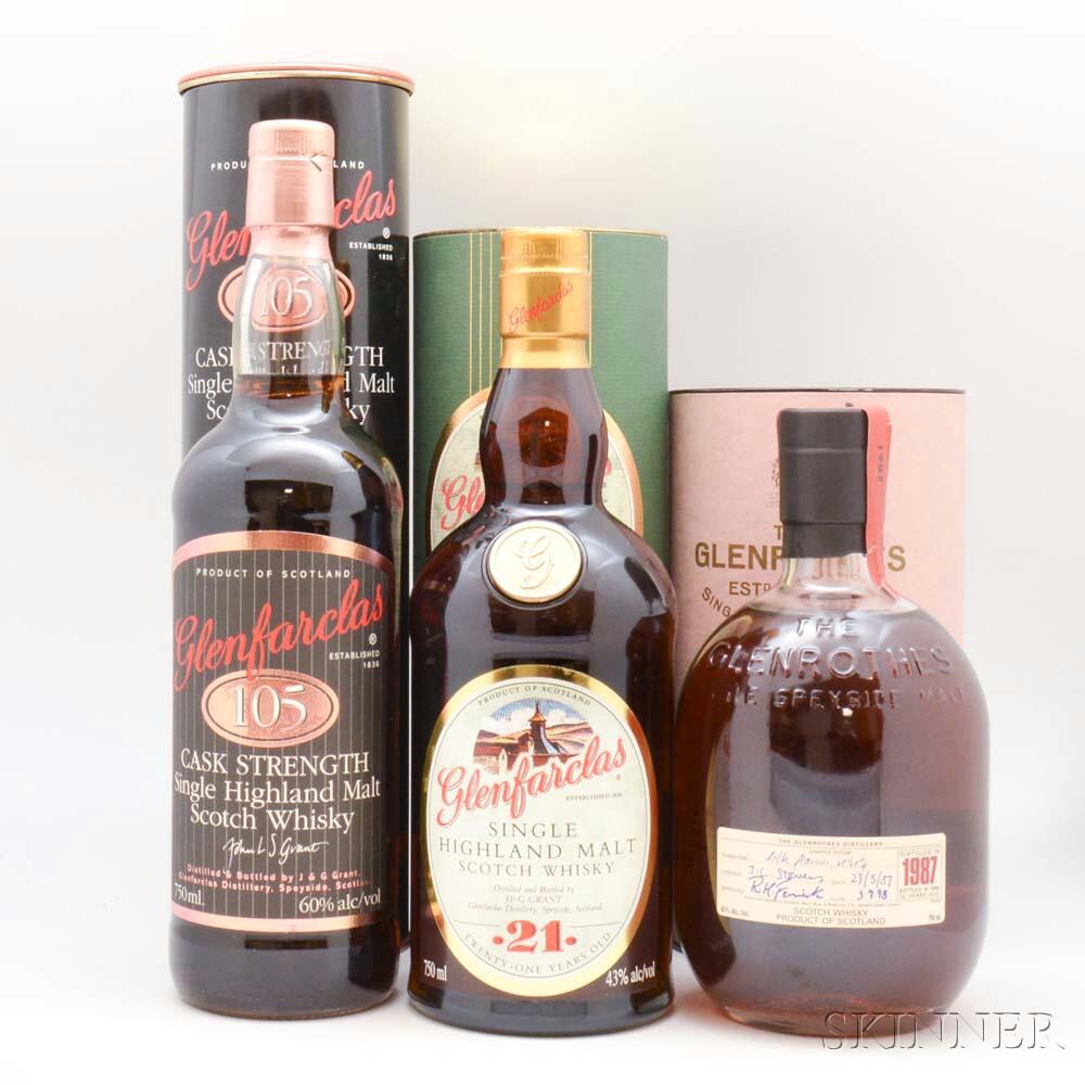 Mixed Single Malt, 5 750ml bottles 1 1-liter bottle