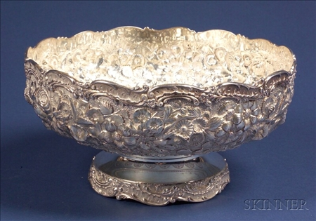American Sterling Repousse Fruit Bowl