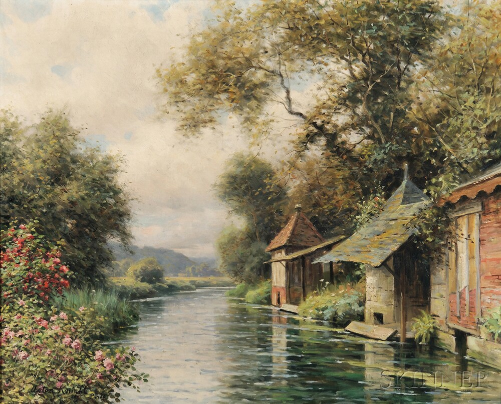 Louis Aston Knight (American, 1873-1948)      Vieux Lavoirs