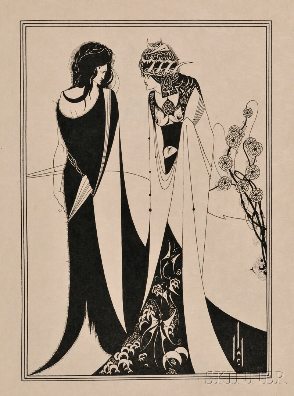 (Beardsley, Aubrey, Illustrator), Wilde, Oscar
