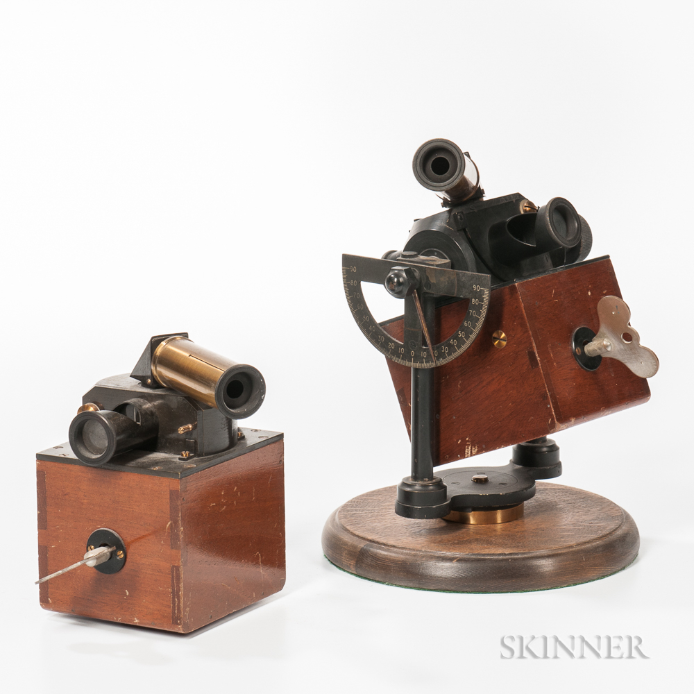 Two Spring-wound Flicker Photometers