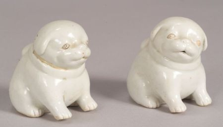 Pair of Porcelain Water Droppers